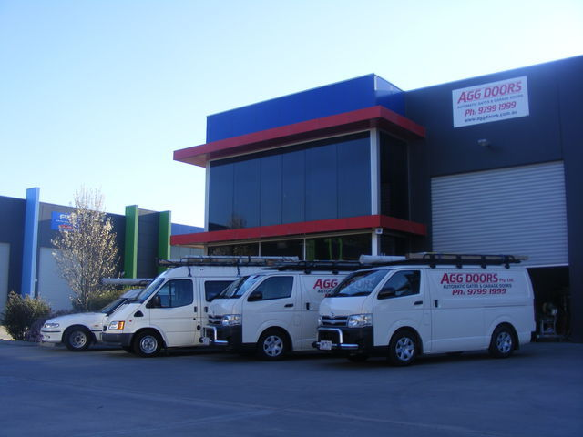 AGG Doors Industrial fleet of vehicles
