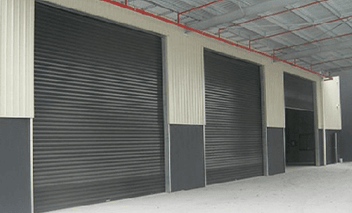Industrial door repair